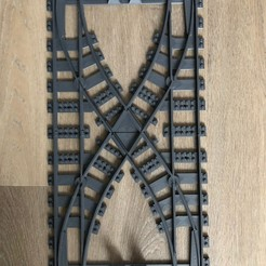 IMG_7630.jpg Download STL file large train track switch • 3D printing template, Byctrldesign