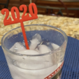Download free STL file 2020 New Years Party Picks and Swizzle Sticks • 3D print model, barb_3dprintny