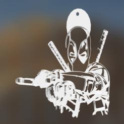 Descargar modelo 3D gratis Deadpool, scoles069