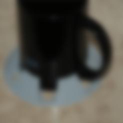 Télécharger objet 3D gratuit Protection contre l'inclinaison de la tasse (personnalisable), dede67