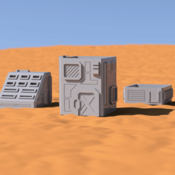 Download free 3D printing templates MARS - Desk Organizer Collection, flowalistik