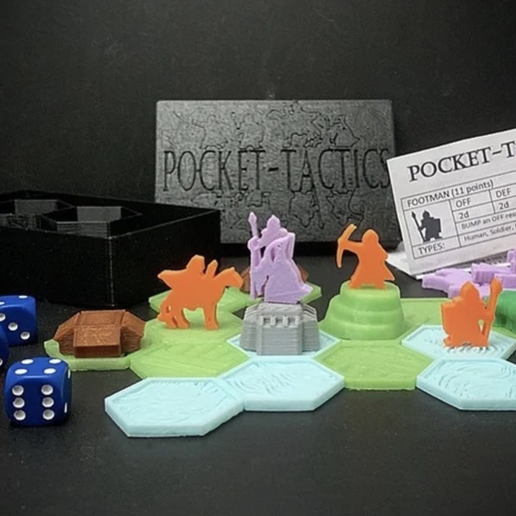 Impresiones 3D gratis Tácticas de Bolsillo: Core Set (5ª Edición), Dutchmogul