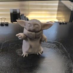 Télécharger fichier 3D gratuit Mandalorian - L'enfant, omega255
