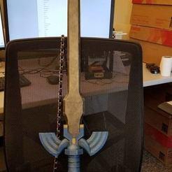 Plan 3D Epée Zelda Master Sword, Imprende