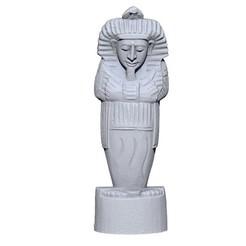 ZBrush-Document-13.jpg Download OBJ file Pharaoh • 3D printing design, yoda3d