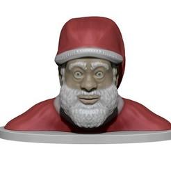 Fichier impression 3D Santa Claus, yoda3d