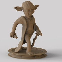 Yjpg.jpg Download STL file yoda Master • 3D printer model, yoda3d