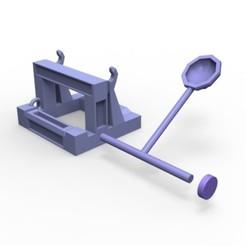fichier imprimante 3d mini Catapulte, yoda3d