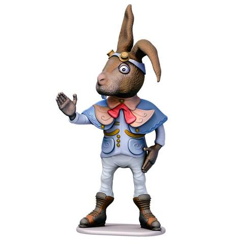 Download 3D model Hare of Mars, yoda3d
