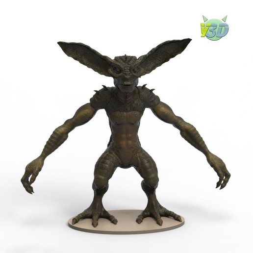Download STL file Gremlin • 3D printable object, yoda3d