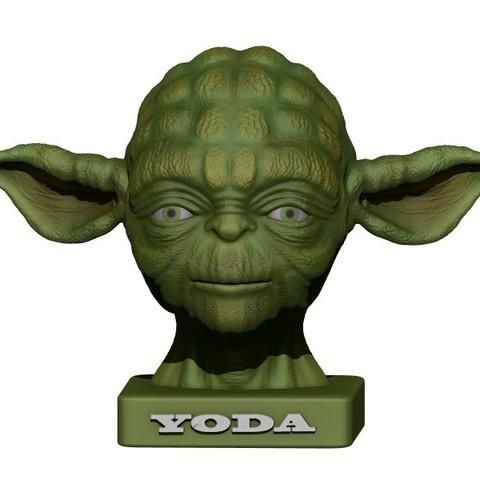plan 3d YODA  (2 versions), yoda3d