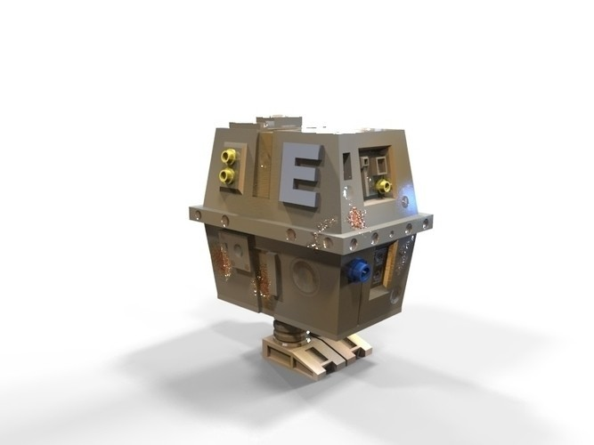 container_gnk-power-droid-3d-printing-119310.jpg Download STL file GNK power droid • 3D print object, yoda3d