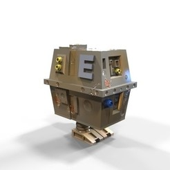 3D printer models GNK power droid, yoda3d