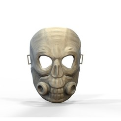 3d printer designs Skull mask, yoda3d