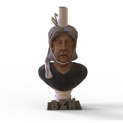 Download STL file Bigoudène • 3D printer object, yoda3d