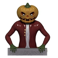 Download STL Mr PUMPKIN, yoda3d