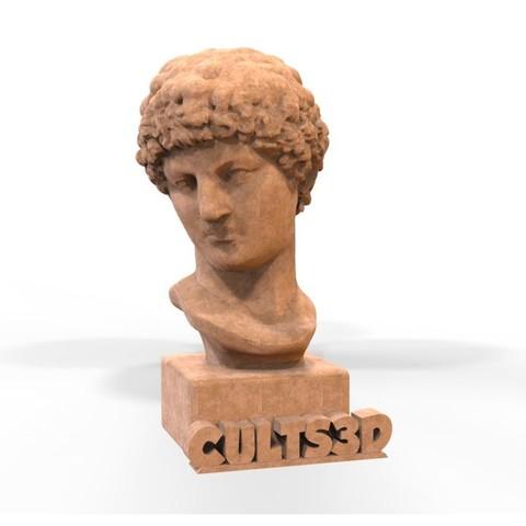 Download STL file Buste grec • Model to 3D print, yoda3d