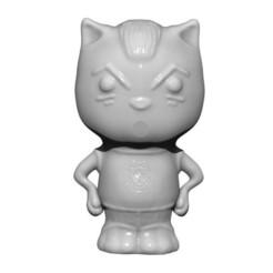 3D print files Goodbye kitty, yoda3d