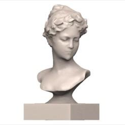 Télécharger objet 3D Buste femme, yoda3d
