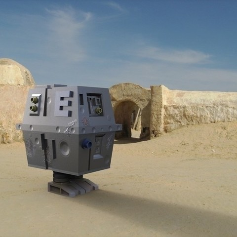 container_gnk-power-droid-3d-printing-119309.jpg Download STL file GNK power droid • 3D print object, yoda3d