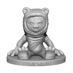 3D printer file Ewok, yoda3d