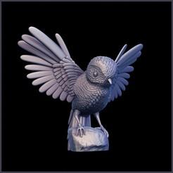 Free STL Bird, yoda3d