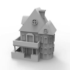 Télécharger plan imprimante 3D House, yoda3d