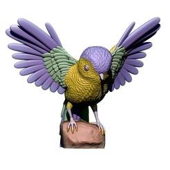 Modelos 3D gratis Pájaro, yoda3d