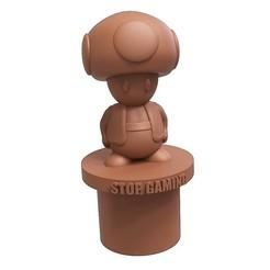 toad.jpg Download free STL file Stop Gaming • Design to 3D print, yoda3d