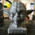 3D print model YODA BUST 2, yoda3d