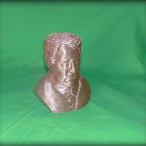 3D printer models Jean Gabin, yoda3d