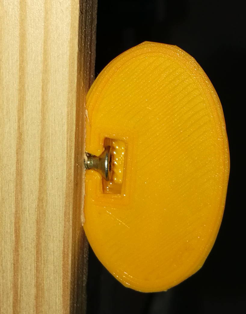 dessous_vis.jpg Download free STL file Spherical photo holder #HP3D • 3D printing object, magou