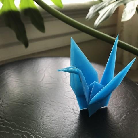 Free 3D model Origamix_Crane, carlosporto