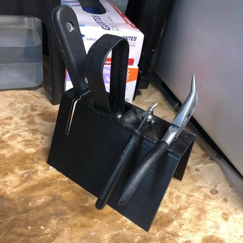 Free 3D printer model Form 2 tool holder, diegotrap