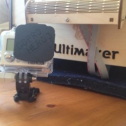stl files Ultimaker GoPro Hero 3 Lens Covers V1.4, IntenseDef