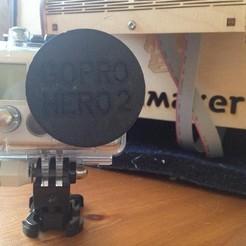 stl file Ultimaker GoPro Hero 2 Lens Cover V1.2 , IntenseDef