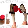 "Download STL file Ultimaker GoPro "" Selfie "" mount with Extensions • 3D print model, IntenseDef"