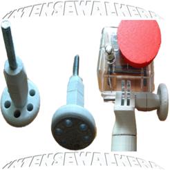 Download STL file GoPro Oversized Thumbwheel V1.3 • 3D print object, IntenseDef