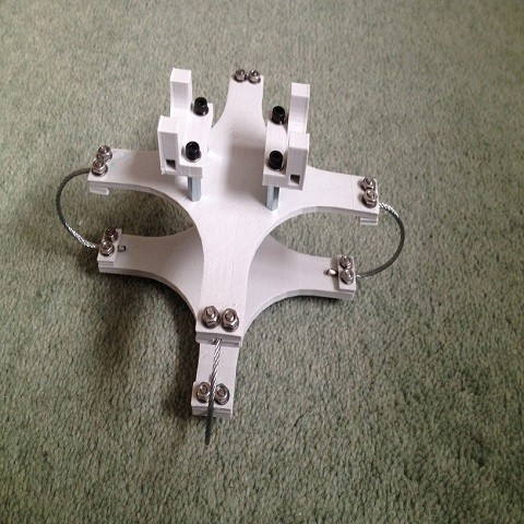 STL Ultimaker GoPro Wired Mount 90mm and 130mm, IntenseDef