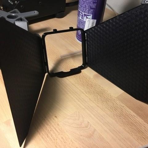 Download free STL file Vive Lighthouse Barndoor System • 3D printer design, Rigelbot
