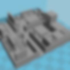 Download STL file Model house with furniture • 3D printer model, creafat
