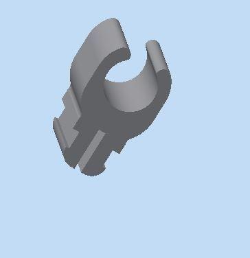 support de barre de capeau voiture (picasso).JPG Download STL file car hood bar support (picasso) • 3D print design, bucker