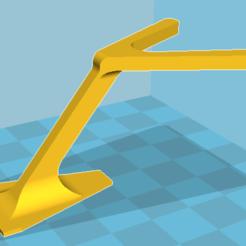 Modèle 3D antenne VHF maquette, bucker