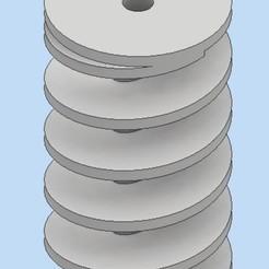 Impresiones 3D la reducción del ruido en el descenso del acuario, bucker