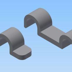 Télécharger fichier STL fixation des tubes d'arrivé d'essence pour model réduit , bucker