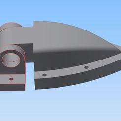 Télécharger STL charnière de porte pour avion 2.4m, bucker