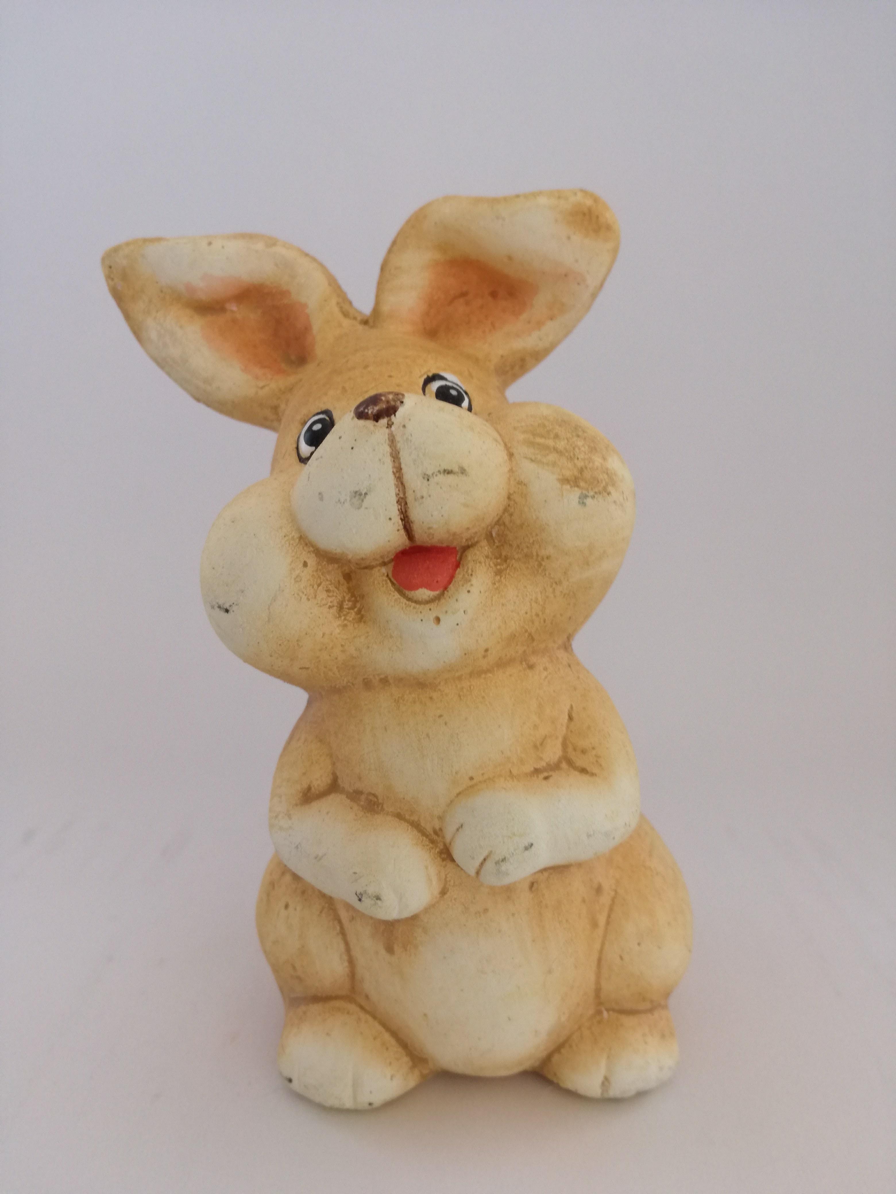 lapin jaune.jpg Télécharger fichier STL gratuit Petit lapin jaune • Objet pour imprimante 3D, Pegazepi