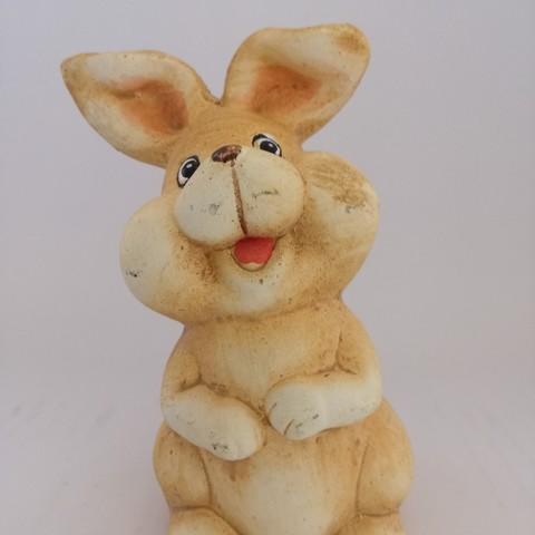 Télécharger objet 3D gratuit Petit lapin jaune, Pegazepi