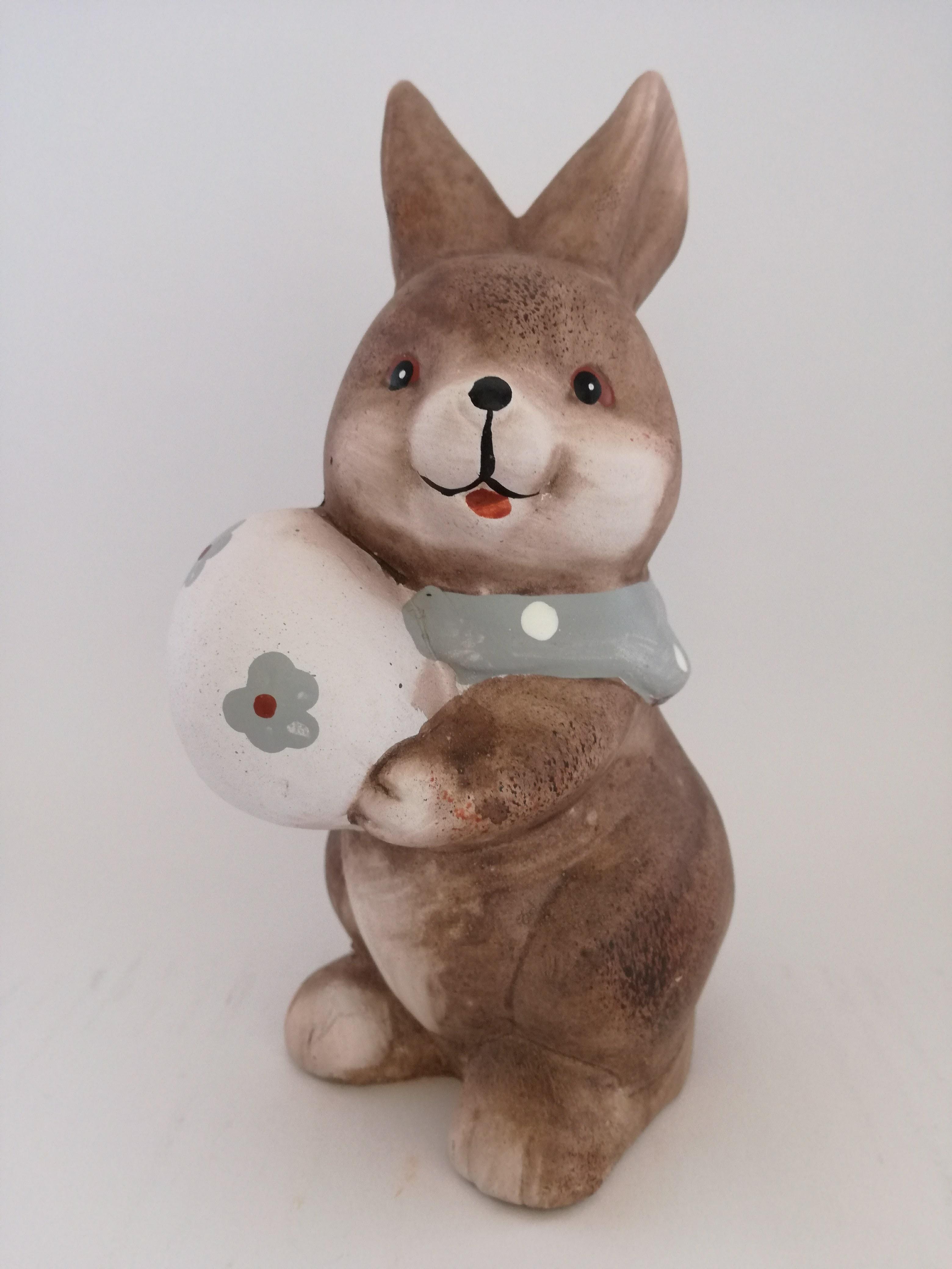 lapin avec oeuf.jpg Télécharger fichier STL gratuit Grand lapin de Pâques • Objet pour impression 3D, Pegazepi