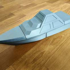 DARINS_1_1.jpg Download free STL file DARINS - stealth boat with reactionless propulsion drive • 3D printer design, TanyaAkinora
